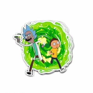 استیکر Rick and Morty
