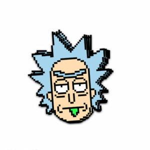 استیکر Rick and Morty