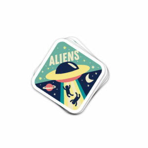 aliens stickers