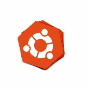 استیکر Ubuntu