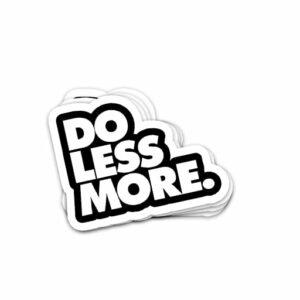 استیکر کارهای کمتری انجام بده
