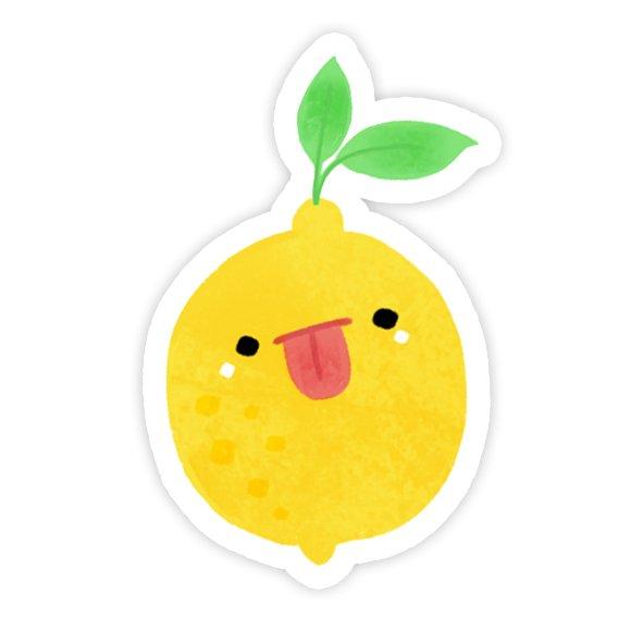 استیکر لپتاپ لیمو ترش