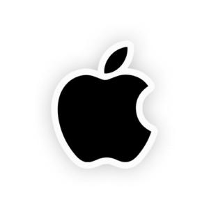 استیکر لپتاپ اپل