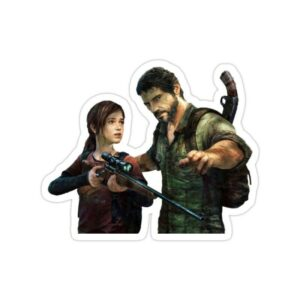 استیکر The Last of Us - جوئل و الی