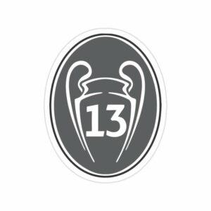 استیکر رئال مادرید – سیزده قهرمانی در UCL