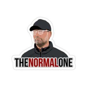 استیکر لیورپول - یورگن کلوپ The Normal One
