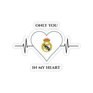 استیکر رئال مادرید – رئال مادرید در قلب من است!
