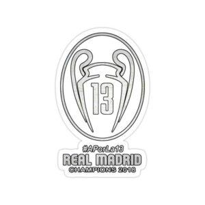 استیکر رئال مادرید – سیزده قهرمانی در اروپا
