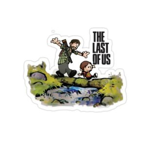 استیکر The Last of Us - کمیک استریپ