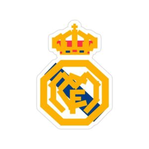 استیکر رئال مادرید – لوگو فانتزی باشگاه
