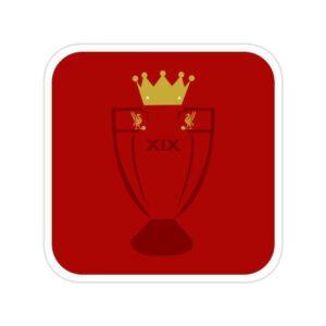 استیکر لیورپول - نوزدهمین قهرمانی در لیگ جزیره
