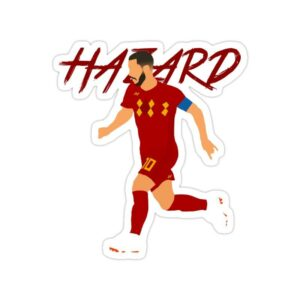 استیکر رئال مادرید – ادن هازارد کاپیتان بلژیک