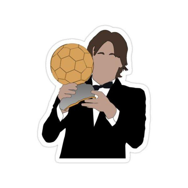 استیکر رئال مادرید – مودریچ توپ طلا