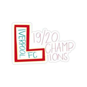استیکر لیورپول – قهرمانی در فصل ۲۰۱۹/۲۰