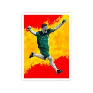 استیکر رئال مادرید – کاسیاس کبیر!