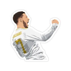 استیکر رئال مادرید - ادن هازارد