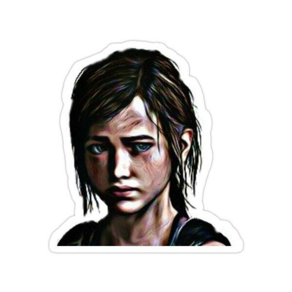 استیکر The Last of Us - پرتره الی