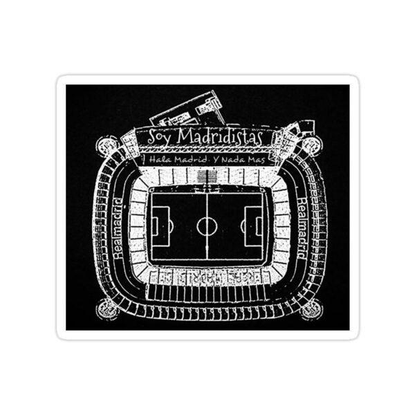 استیکر رئال مادرید – سانتیاگو برنابئو از نمای بالا