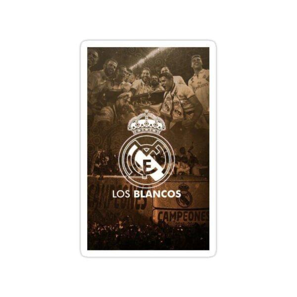 استیکر رئال مادرید – لوس بلانکوس