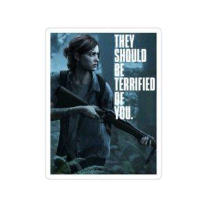 استیکر The Last of Us - الی تایپوگرافی