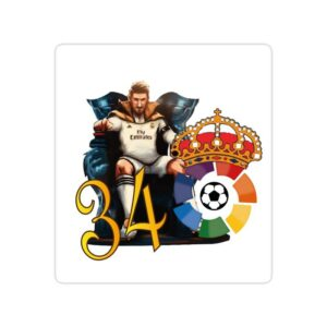 استیکر رئال مادرید – سی و چهارمین قهرمانی در لالیگا در فصل ۲۰۱۹/۲۰