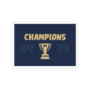 استیکر رئال مادرید – قهرمانی در لالیگا