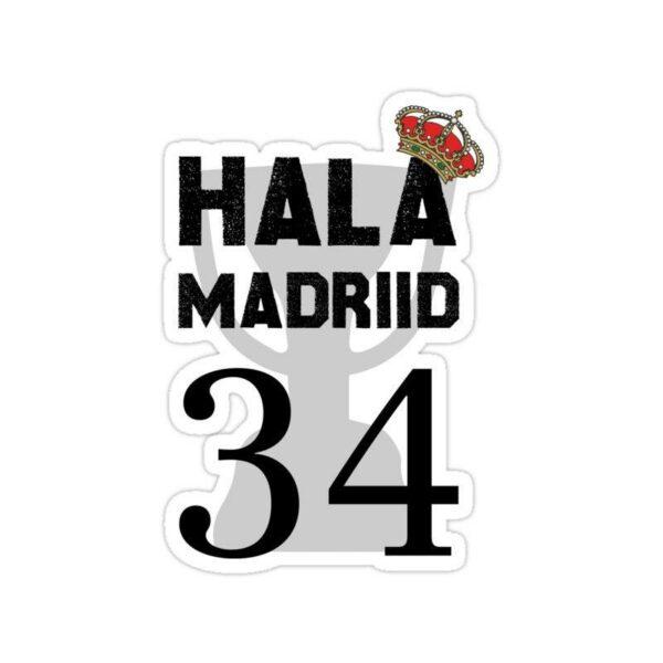 استیکر رئال مادرید – شعار قهرمانی