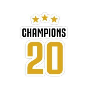 استیکر لیورپول – قهرمان فصل ۲۰۱۹/۲۰