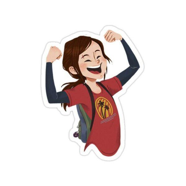 استیکر The Last of Us - الی کارتونی