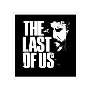 استیکر The Last of Us - جوئل سیاه سفید