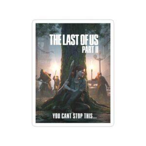 استیکر The Last of Us قسمت دوم - تایپوگرافی