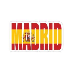 استیکر رئال مادرید - شهر مادرید