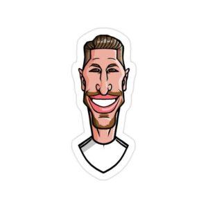 استیکر رئال مادرید - راموس کاریکاتور