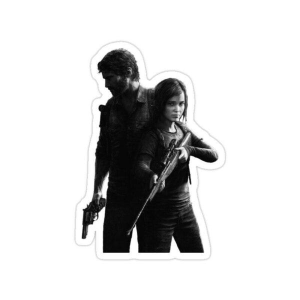 استیکر The Last of Us - جوئل و الی