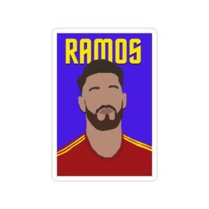 استیکر رئال مادرید - سرخیو راموس کاپیتان اسپانیا