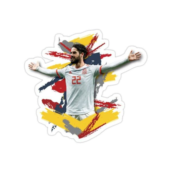 استیکر رئال مادرید - ایسکو