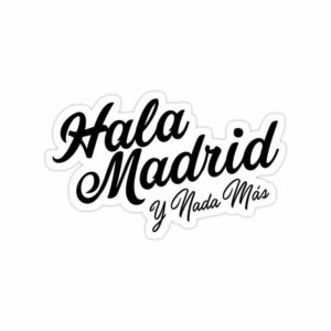 استیکر رئال مادرید - شعار باشگاه