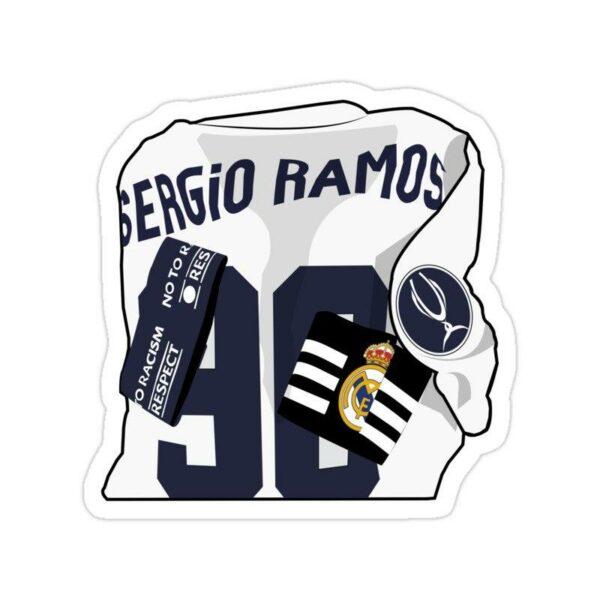 استیکر رئال مادرید – سرخیو راموس