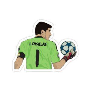 استیکر رئال مادرید – ایکر کاسیاس رئال مادرید