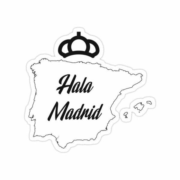 استیکر رئال مادرید – شعار باشگاه