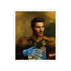استیکر رئال مادرید - ژنرال کاسیاس!
