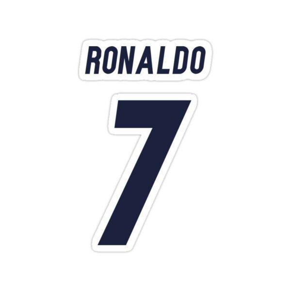 استیکر رئال مادرید – شماره رونالدو