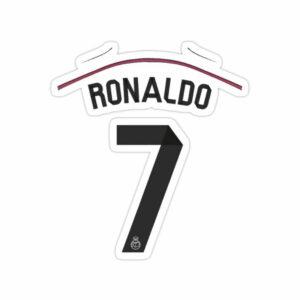 استیکر رئال مادرید – پیراهن رونالدو مادرید