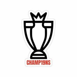 استیکر لیورپول - جام قهرمانی