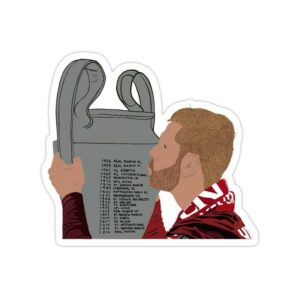 استیکر لیورپول - ششمین قهرمانی لیگ قهرمانان