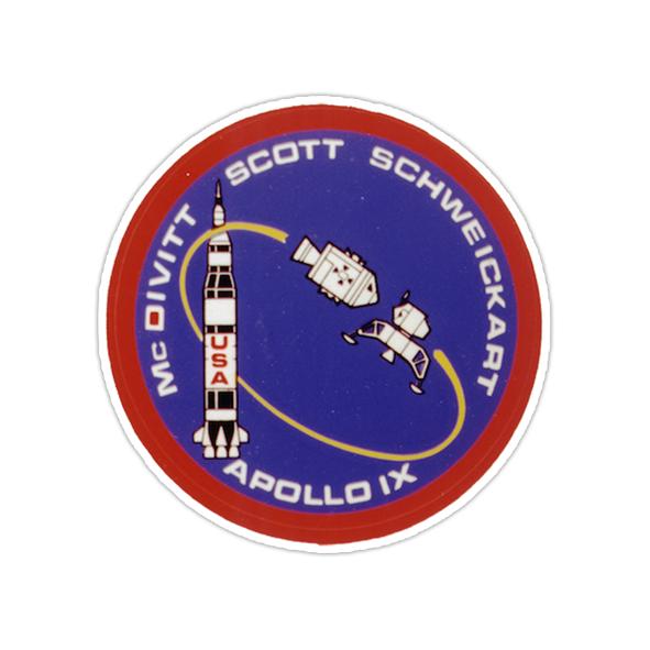 استیکر ناسا - آپولو ۹