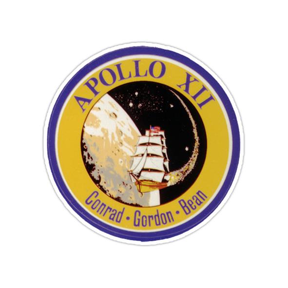 استیکر ناسا - آپولو ۱۲