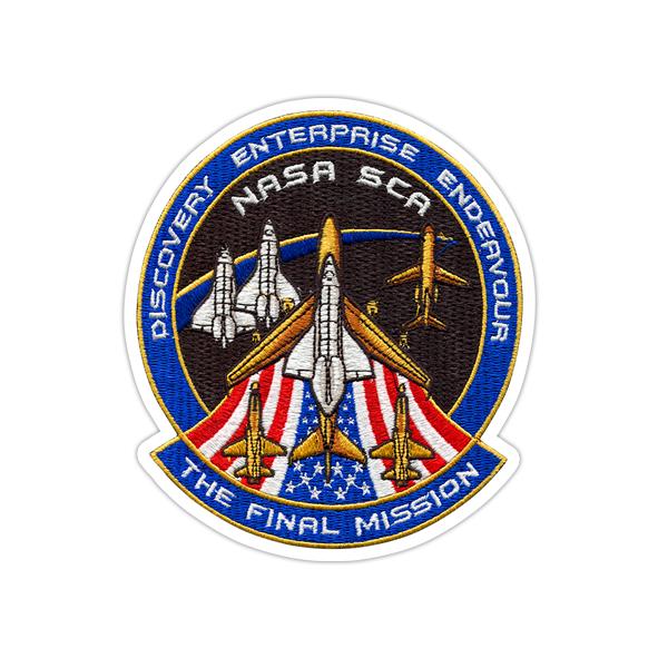 استیکر ناسا - ماموریت نهایی
