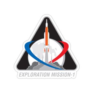 استیکر ناسا - آرتمیس ۱