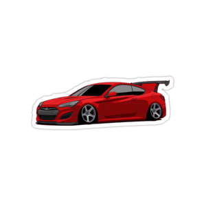 استیکر هیوندا - Genesis coupe